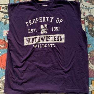 Northwestern Wildcats Tank Top Men's Purple